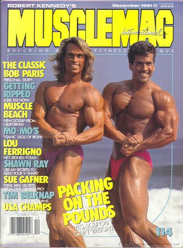 Gay male body builders