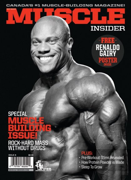 Muscle Insider magazine