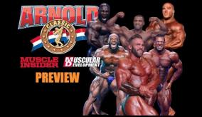 2021 Arnold Classic Preview with MUSCULAR DEVELOPMENT'S Ron Harris & MUSCLE INSIDER's Scott Welch