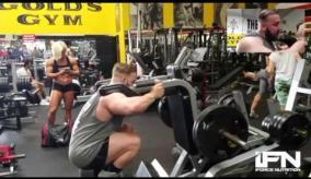 Leg Training With Massive Chris Pantano