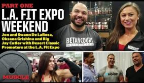 Fit Expo Interviews with Oksana Grishina and a ton of IFBB Pros