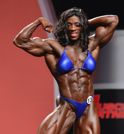 CHANGING THE PERCEPTION OF FEMALE BODYBUILDING | MUSCLE