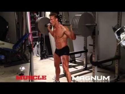 Mike O'Hearn - All access Photoshoot and Ab-off