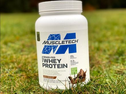 Supplement Review - MuscleTech Grass-Fed 100% Whey Protein