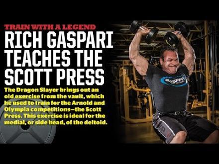 Rich Gaspari teaches the Scott Press