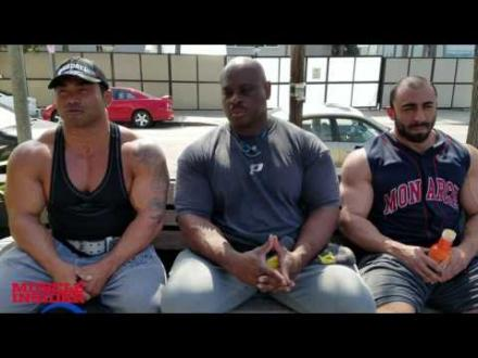 """Hide trains delts with new trainer Chris """"Psycho Fitness"""" Lewis-Iron Diaries"""